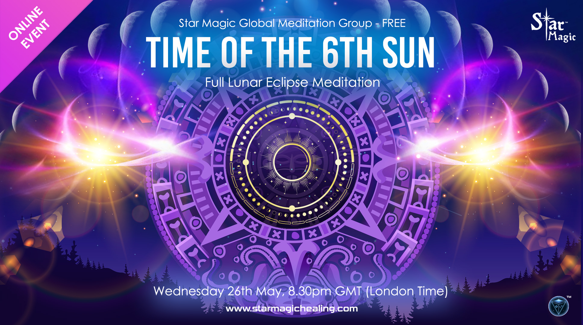 Time of the 6th Sun - Full Lunar Eclipse Meditation